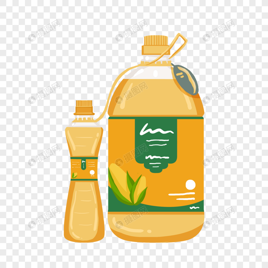 hand painted wind cooking oil png