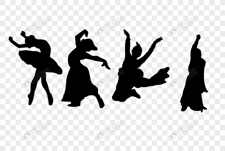 Youth Dancing Silhouette Png Image Picture Free Download 401726619 Lovepik Com