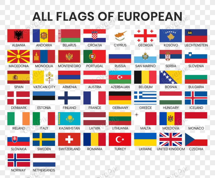 Lovepik صورة Eps 450007902 Id الرسومات بحث صور جميع الأعلام الوطنية للدول الأوروبية متجه