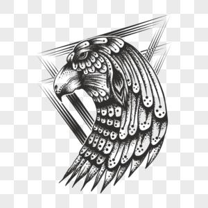Gambar Logo Kepala Elang Hitam Putih 117939 Kepala Elang Vektor Foto Hd Unduh Gratis Id Lovepik Com