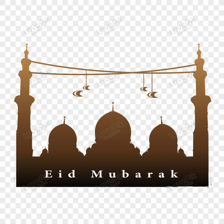 eid ul fitr mubarak palace vector png