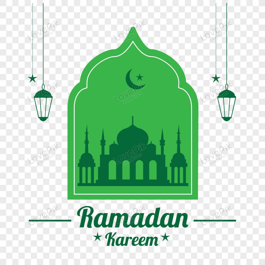 badge symbolic ramadan illustration vector png
