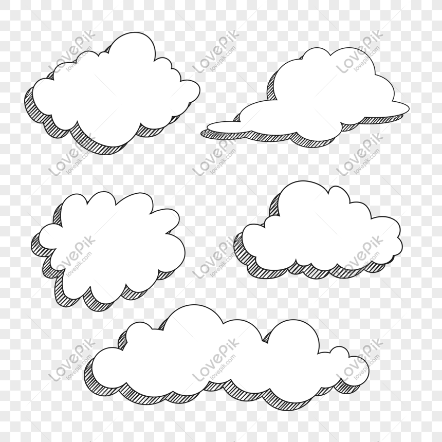 cartoon clouds png
