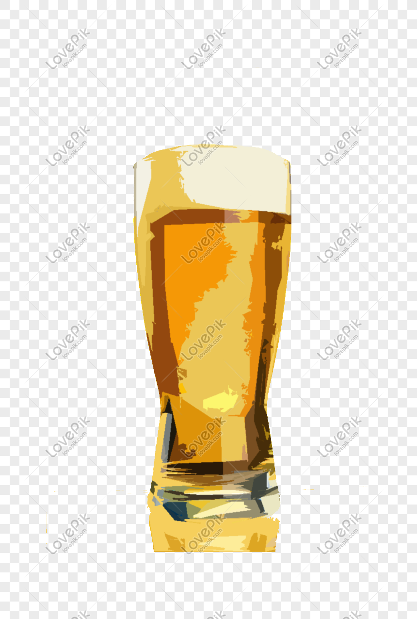 Hand Drawn Cartoon Oil Painting Mug With Beer Png Image Picture Free Download 647878200 Lovepik Com