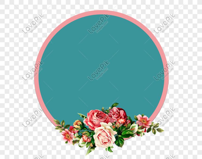 Download Çiçek Çerçevesi Png Gif