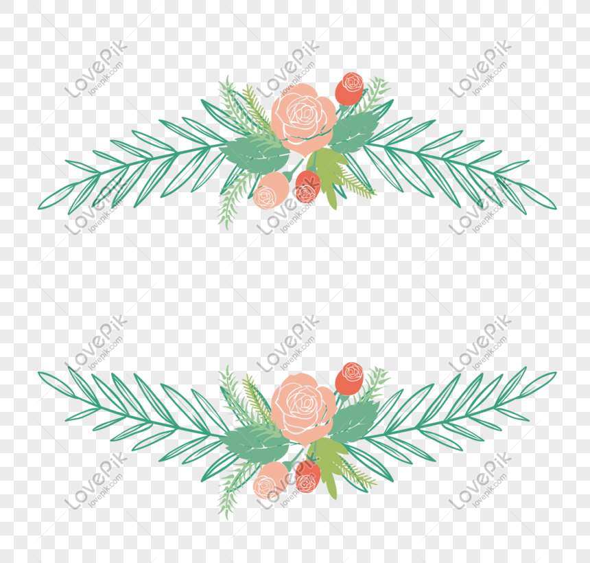vector flower plant decorative frame png image picture free download 648460869 lovepik com vector flower plant decorative frame