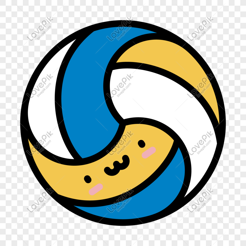 Cartoon Hand Drawn Vector Volleyball Png Image Picture Free Download 648488034 Lovepik Com