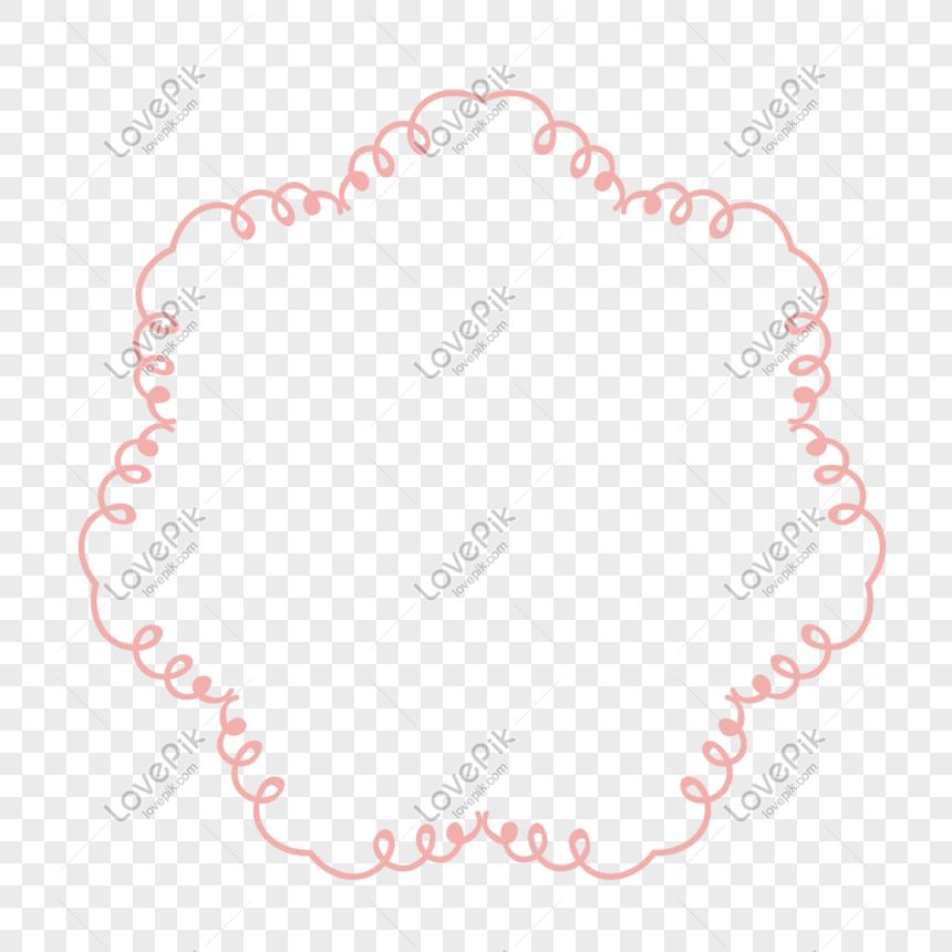 Ilustración Vectorial Rosa Decorativa Estructura Metálica