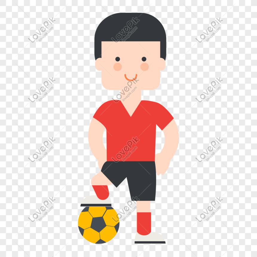 Budak Bola Sepak Kartun Gambar Unduh Gratis Imej 649011964 Format Psd My Lovepik Com