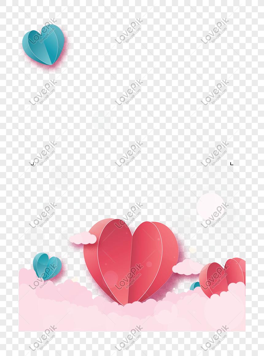 Día De San Valentín Feliz Día De La Madre Estéreo Love Border Imagen