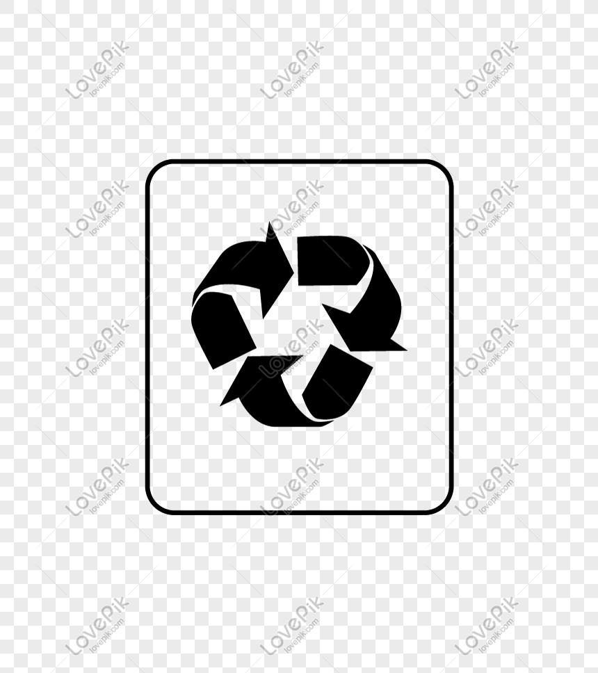 Logo Kitar Semula Hitam Yang Ditarik Tangan Gambar Unduh Gratis Imej 611645145 Format Png My Lovepik Com