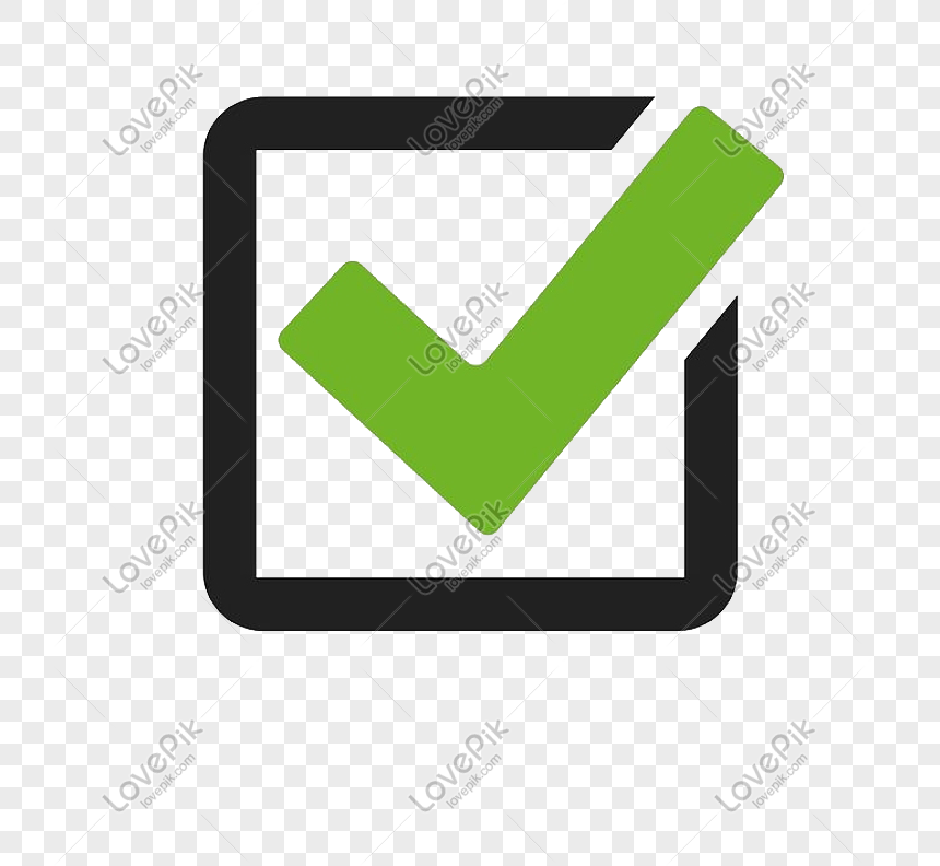 green minimalist checkmark png image picture free download 611694963 lovepik com green minimalist checkmark png