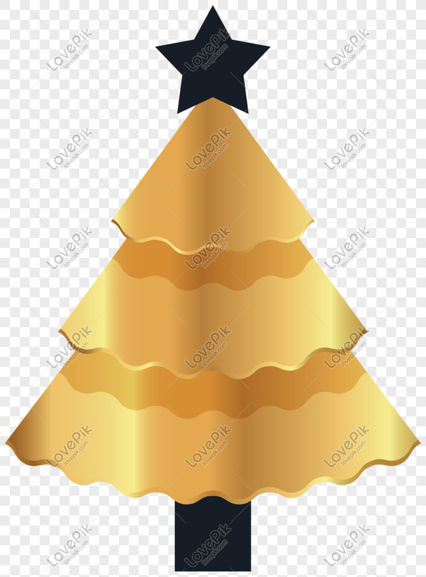 pohon natal emas
