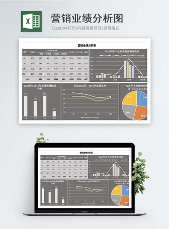 Pagganap ng pagtatasa graph graph excel template Mga template