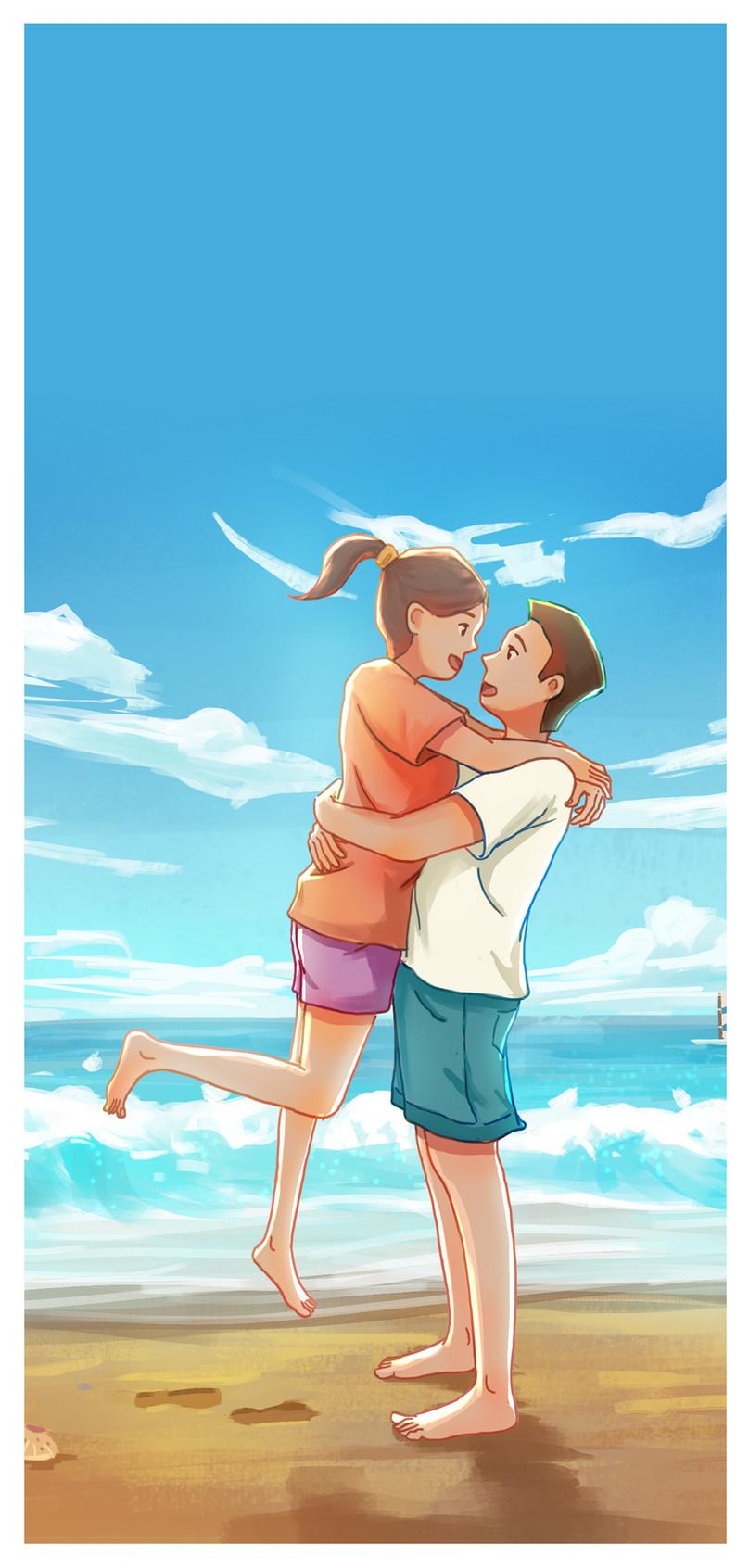 夏の恋人モバイル壁紙イメージ 背景 Id 400235327 Prf画像フォーマット