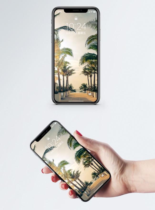 Тропический пейзаж мобильные обои