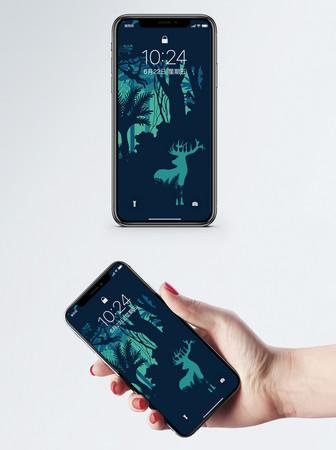 e1adbba351a ... teléfono móvil del arco iris después de la jpg fondo de pantalla de  bosque con ciervo jpg ...