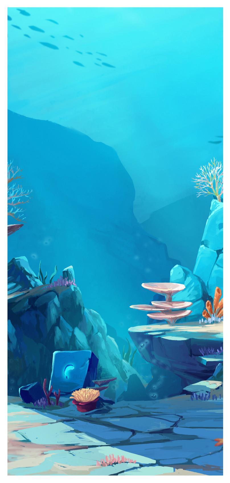 Wallpaper Ponsel Dunia Bawah Laut Gambar Unduh Gratis Latar