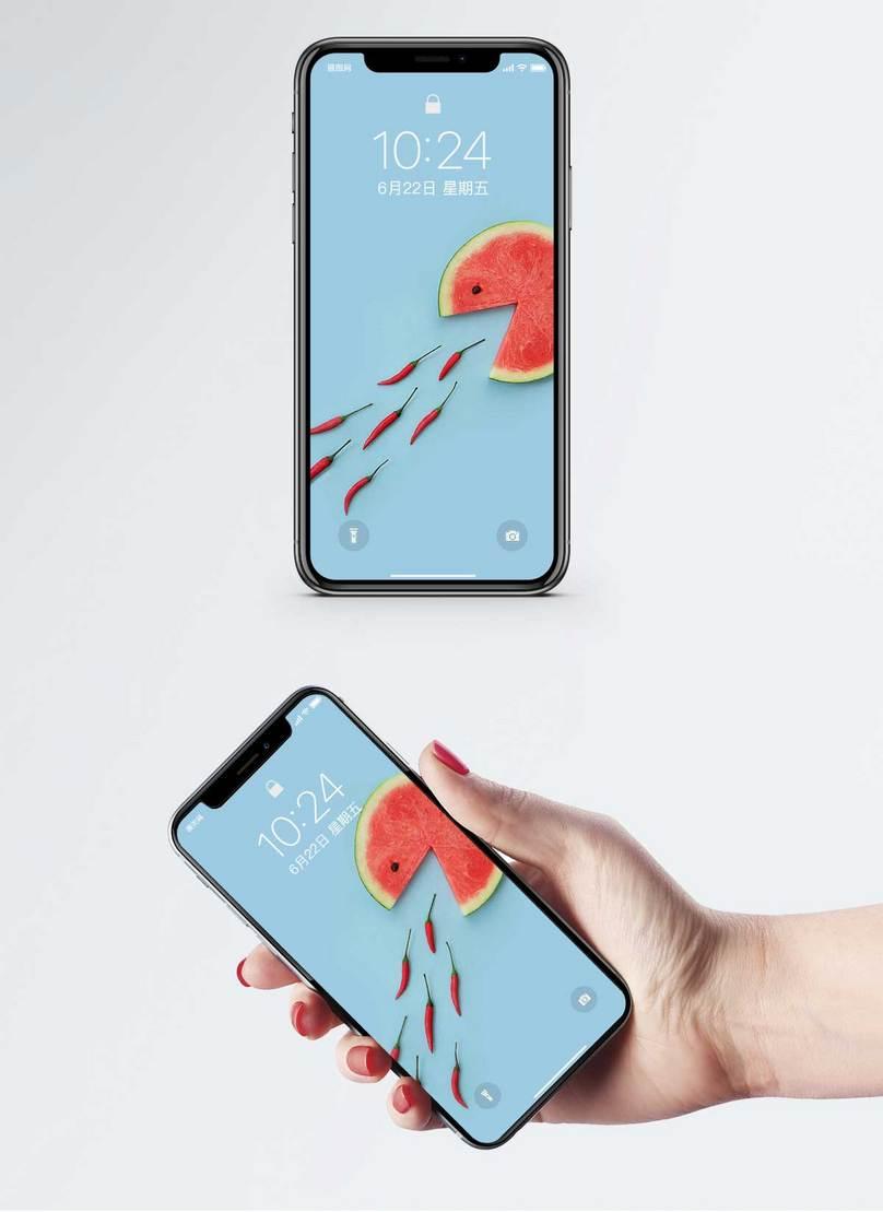 スイカ涼しい夏の携帯電話の壁紙イメージ 背景 Id 400281552 Prf画像