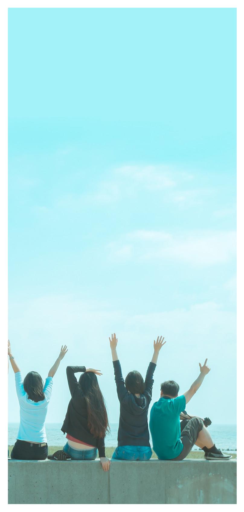 青少年卒業シーズンの携帯電話の壁紙イメージ 背景 Id 400290524 Prf