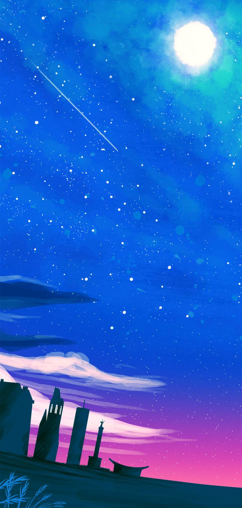 夜空の携帯壁紙イメージ 背景 Id 400345785 Prf画像フォーマットjpg Jp