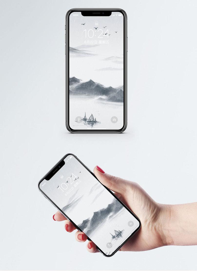 Manzara Boyama Cep Telefonu Duvar Kağıdı Resimarka Numarası