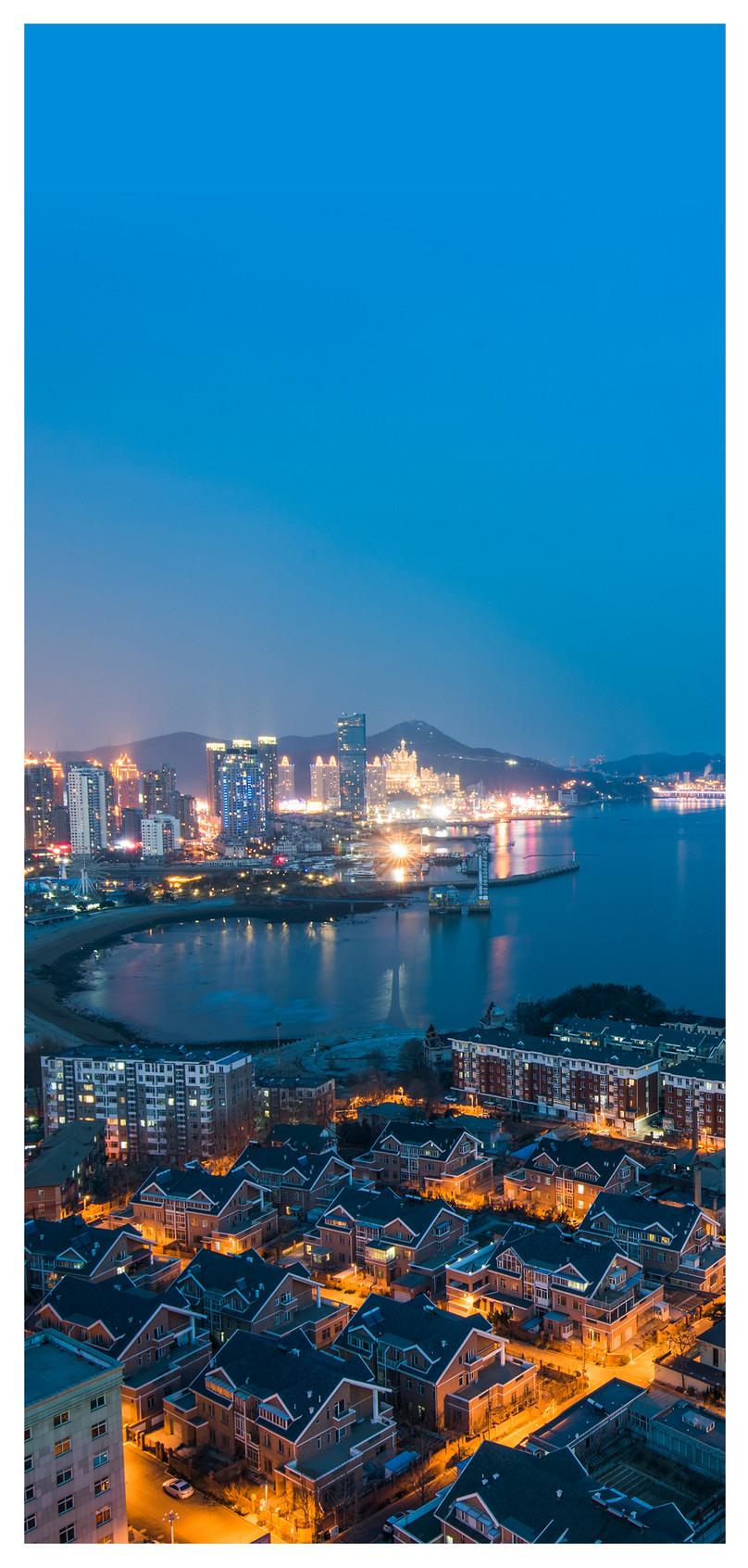 Wallpaper Ponsel Pemandangan Malam Kota Gambar Unduh Gratis