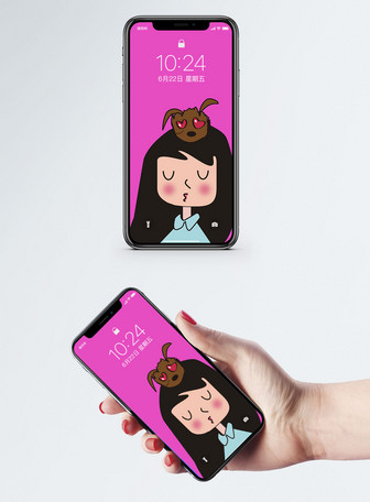Cartoon Cute Cell Phone Wallpaper Backgrounds Images Free Download 400476373 Lovepik Com