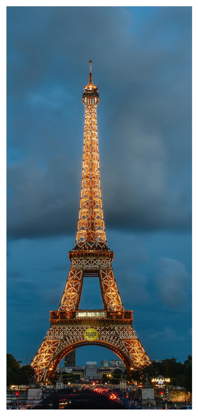 Menara Eiffel Night View Wallpaper Ponsel Gambar Unduh