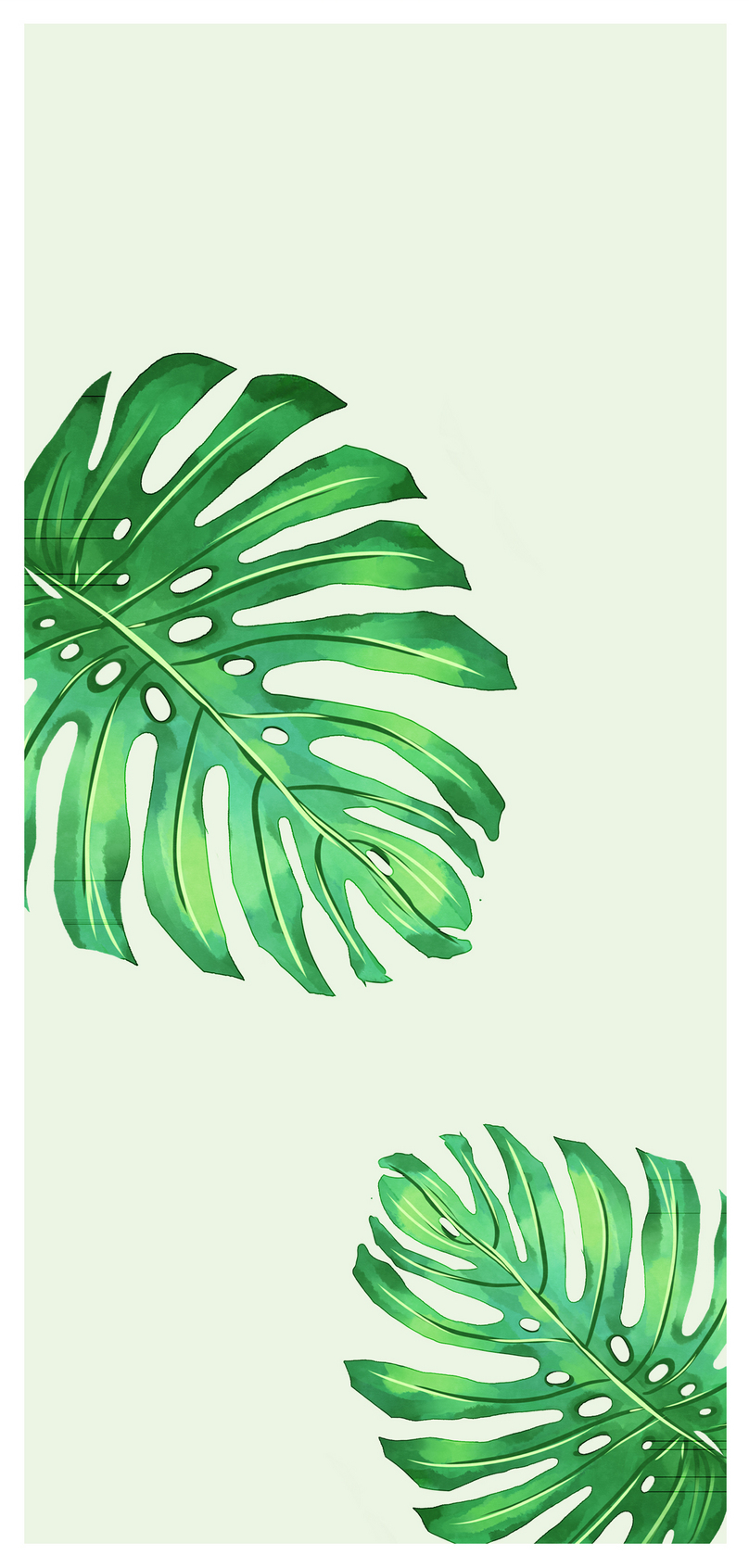 Green Leaf Mobile Phone Wallpaper Backgrounds Images Free