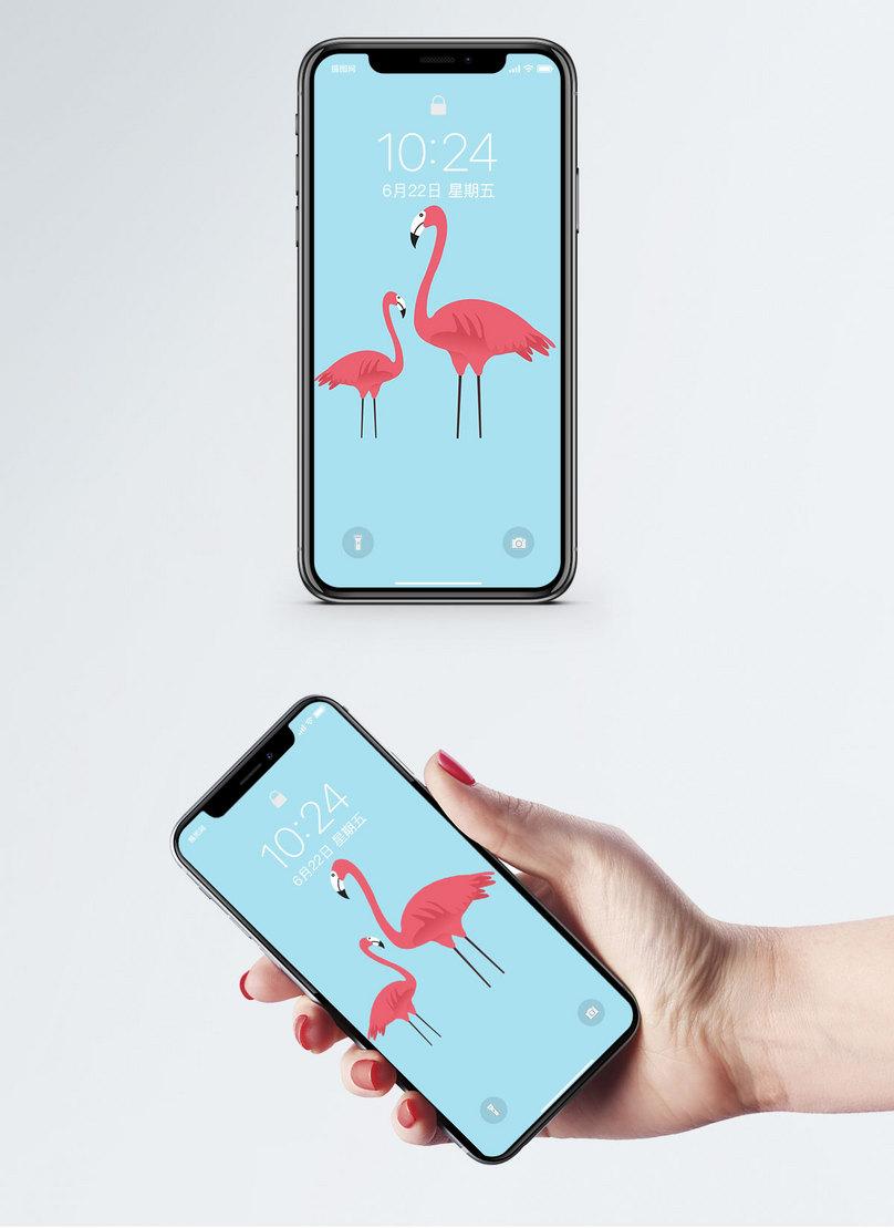 Wallpaper Mudah Alih Flamingo Gambar Unduh Gratis Imej