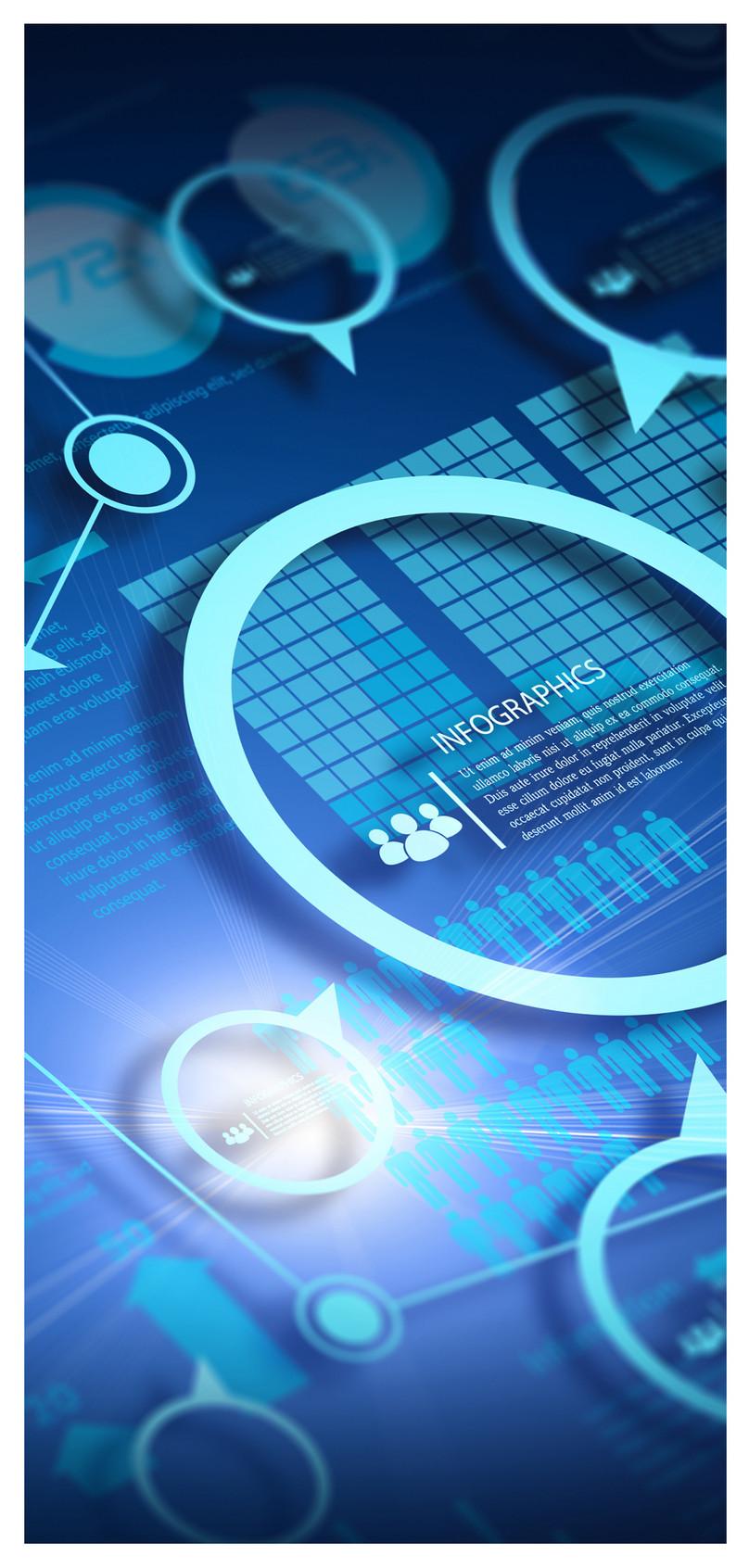 ブルーテクノロジーの背景モバイル壁紙イメージ 背景 Id 400487383 Prf