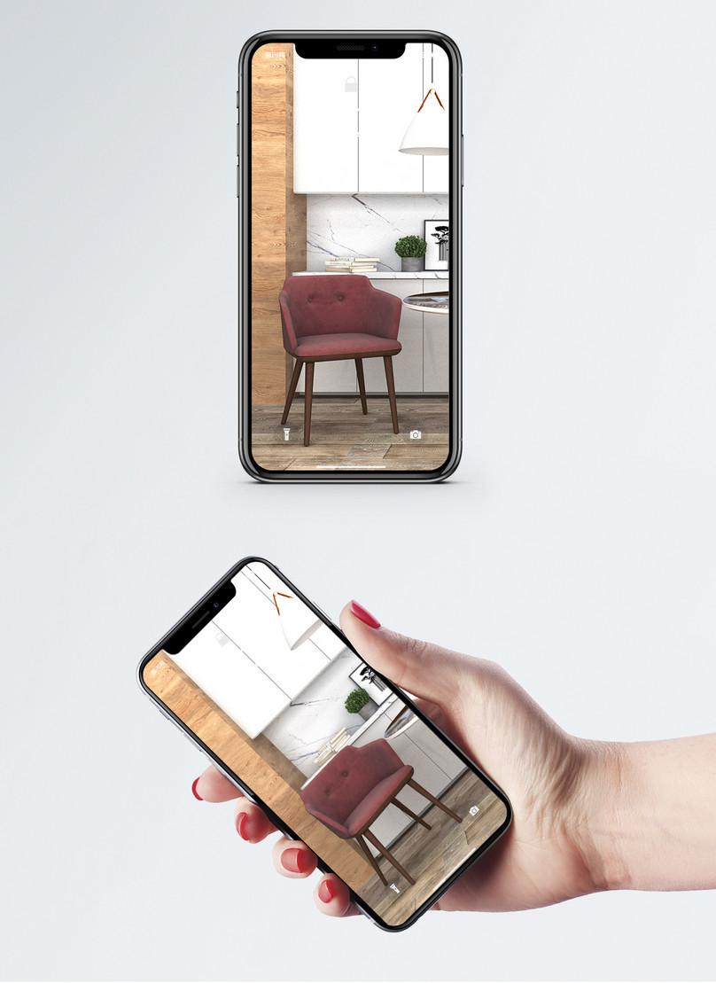 Pemandangan Dapur Moden Adegan Kertas Dinding Gambar Unduh
