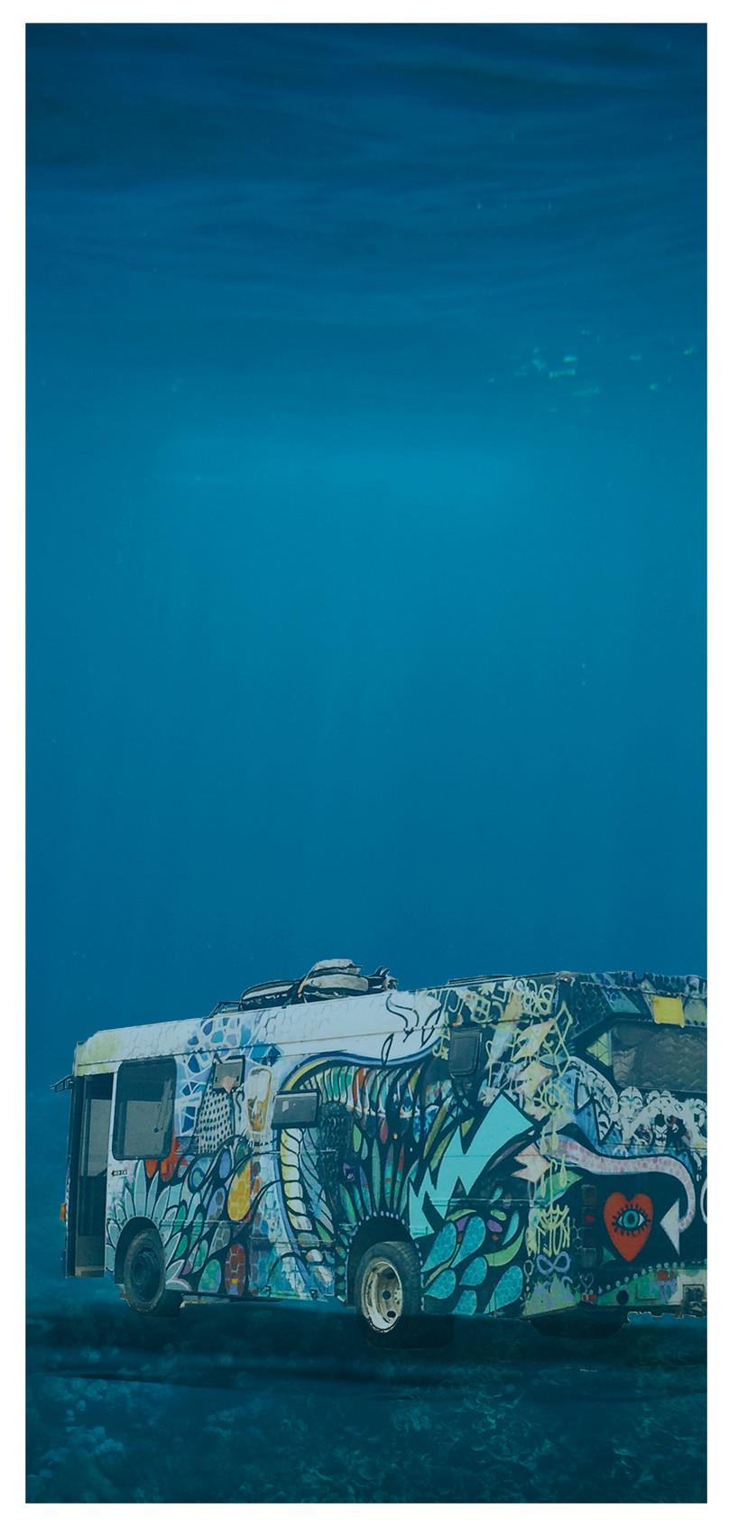 Laut Dalam Bas Bergerak Wallpaper Gambar Unduh Gratis Imej