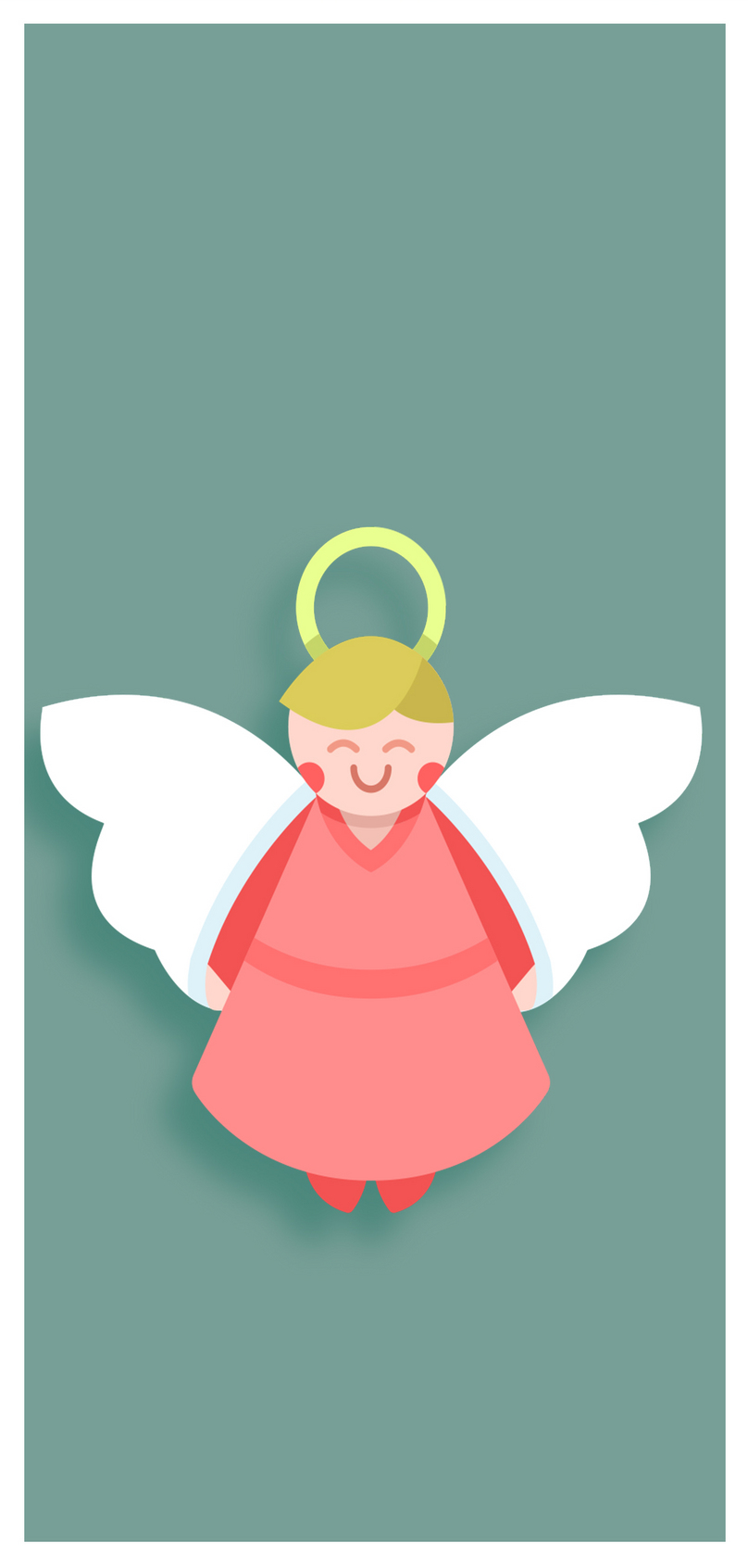 Cartoon Cute Angel Mobile Wallpaper Backgrounds Images Free