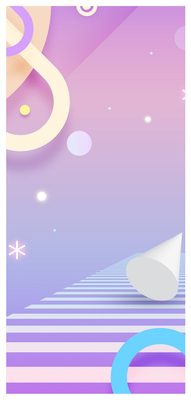 霓虹場景手機壁紙圖片素材 Jpg圖片尺寸1125 2436px 高清圖片