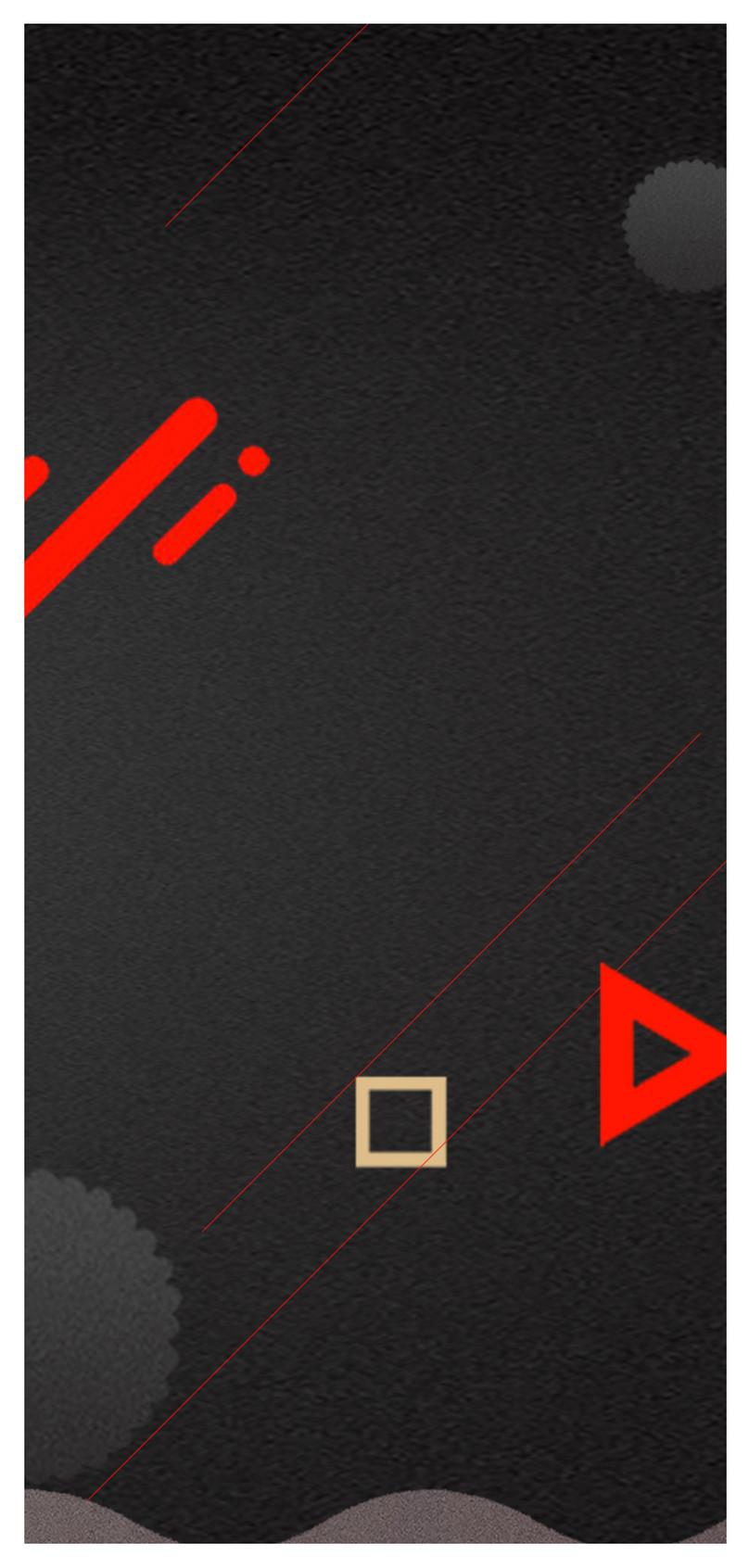 赤と黒のコントラストの携帯電話の壁紙イメージ 背景 Id 400752967 Prf
