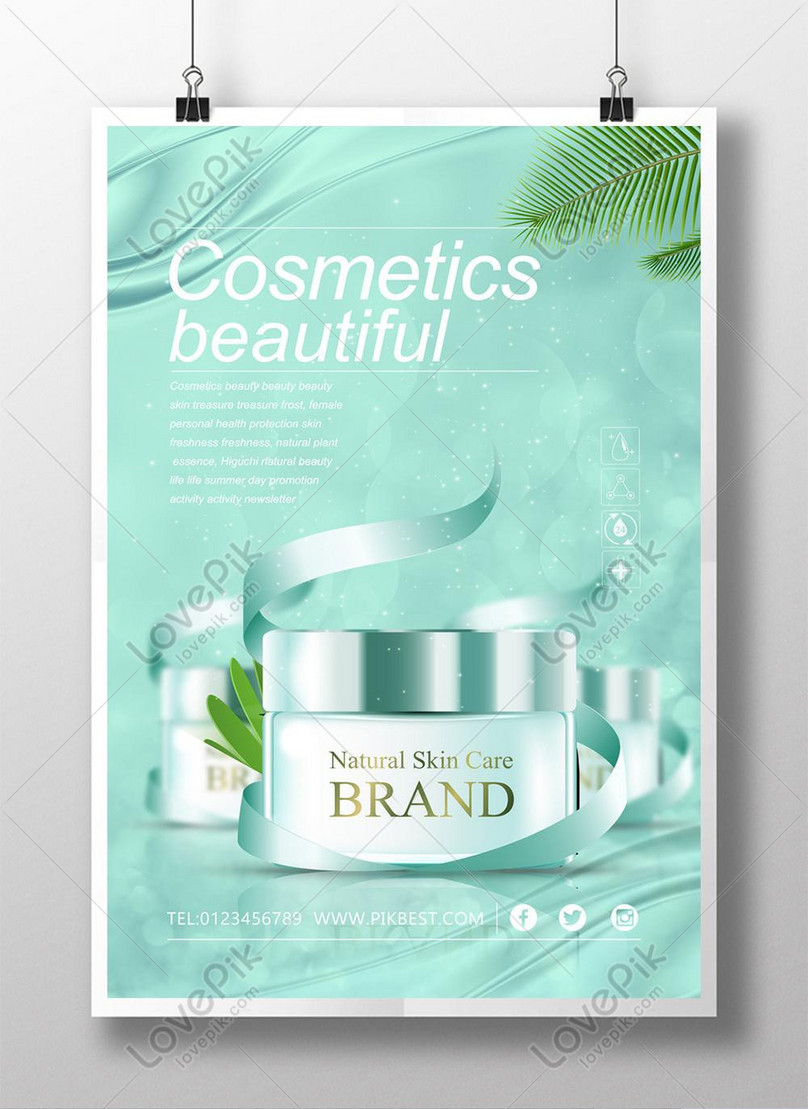Beauty Cosmetics Fresh Nature Poster Template Image Picture Free Download 450023341 Lovepik Com