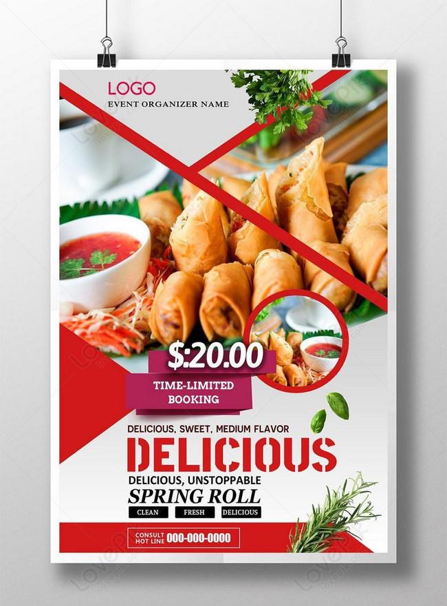 Poster Promosi Makanan Segar Gambar Unduh Gratis Templat 450021080 Format Gambar Psd Lovepik Com