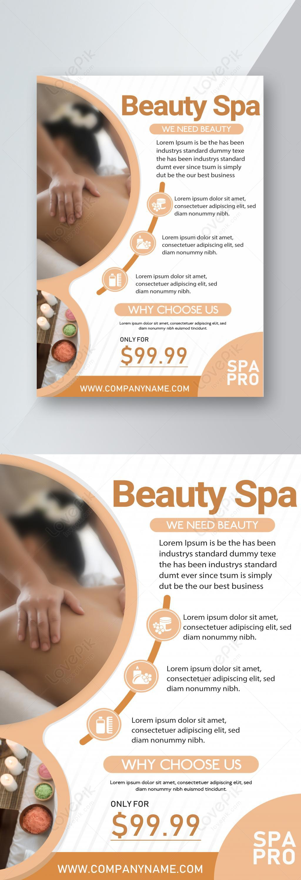 Massage Flyer Template Free from img.lovepik.com