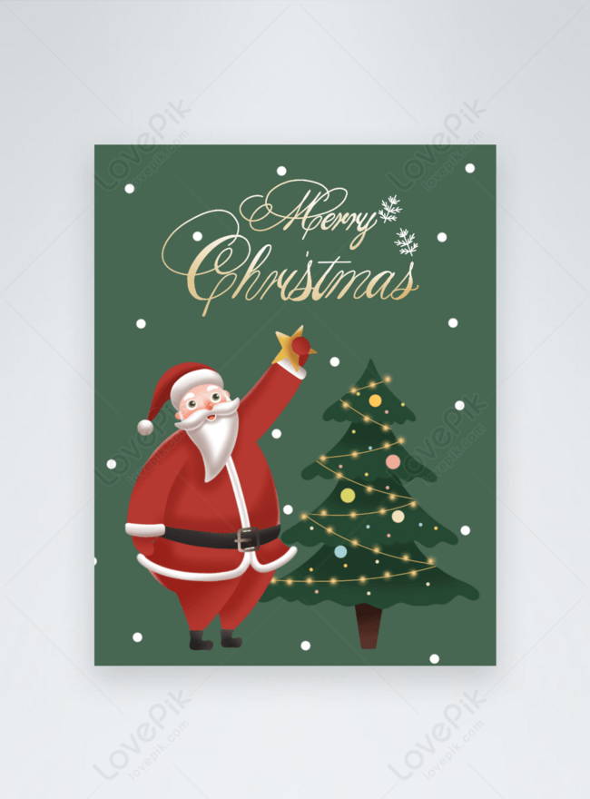 Kad Hari Krismas Yang Dilukis Dengan Tangan Yang Comel Gambar Unduh Gratis Imej 465220152 Format Psd My Lovepik Com