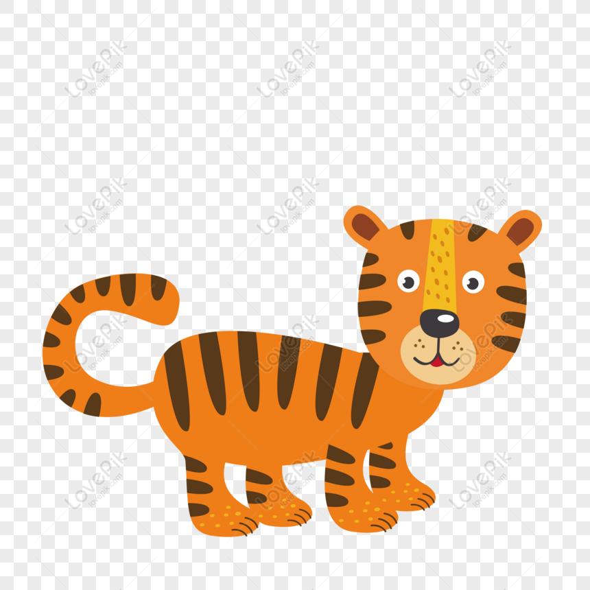58 Gambar Animasi Kartun Harimau Terbaru