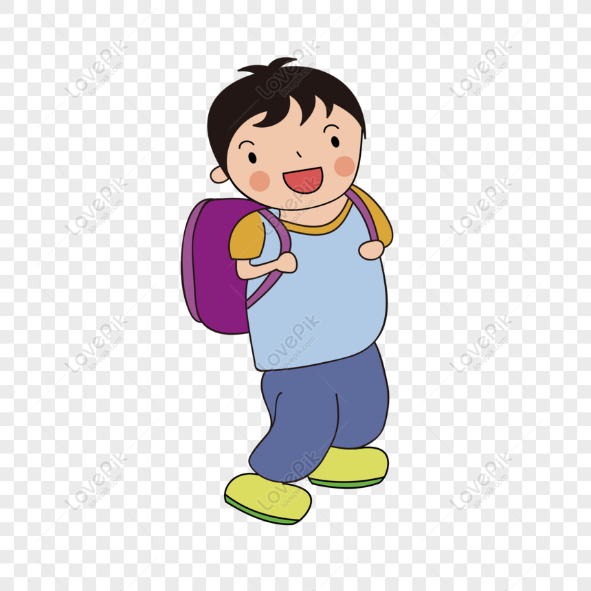 Gratis Elemen Vektor Kartun Anak Sekolah Sekolah Png Ai Unduhan Gambar Ukuran 8333 8333px Id 828842667 Lovepik