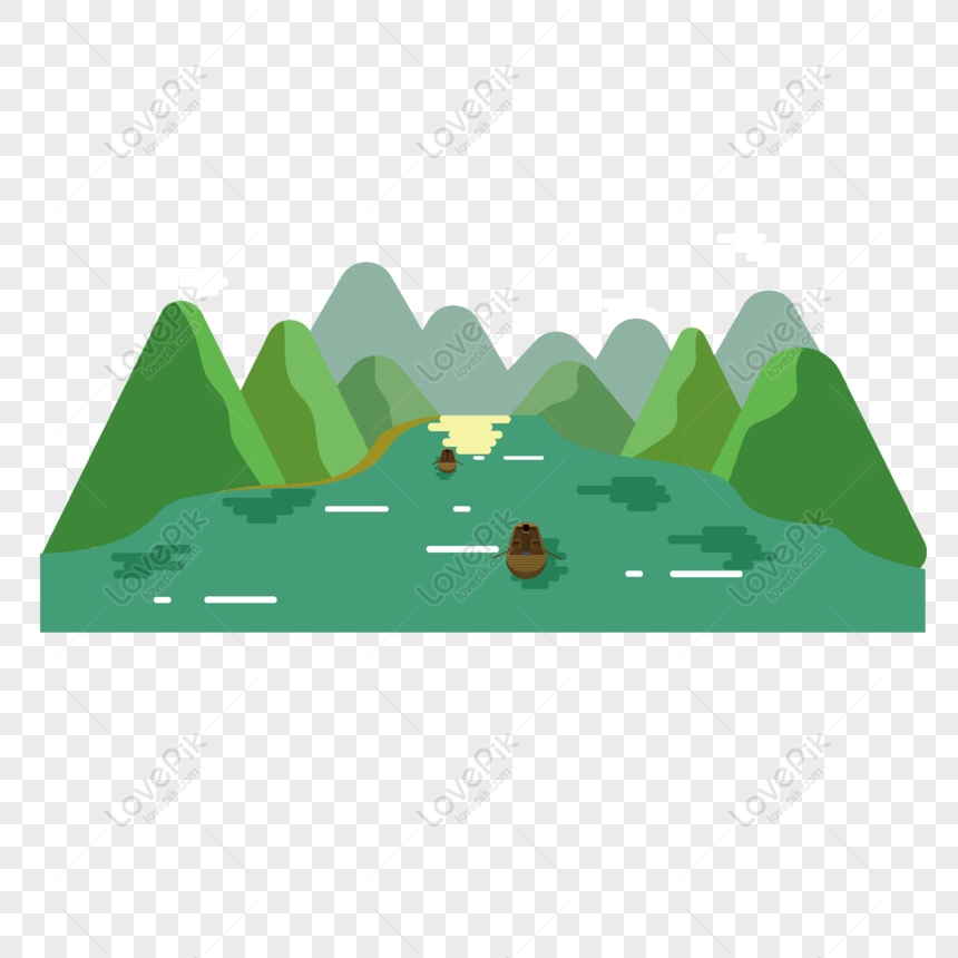 Gratis Kartun Elemen Gunung Gunung Hijau Datar Png Ai Unduhan Gambar Ukuran 2000 2000px Id 828896645 Lovepik
