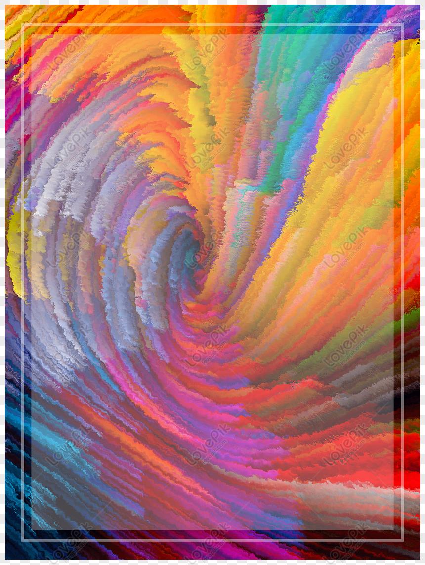 Gratuit Arrière Plan Coloré Style Poudre Atmosphérique Png