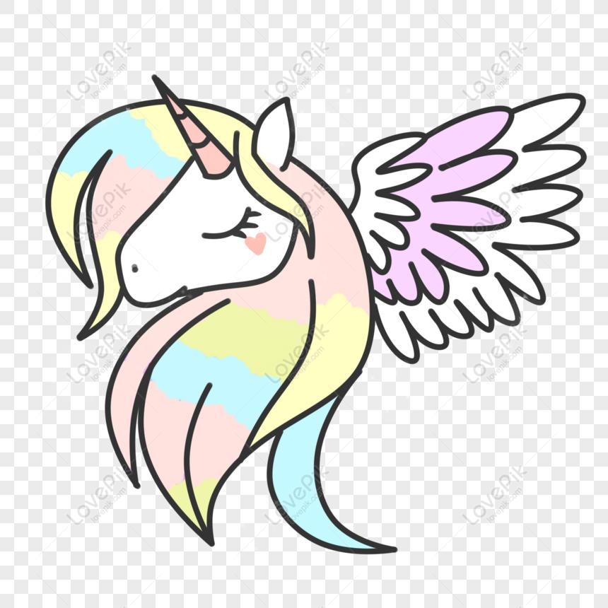 Contoh Gambar Unicorn Lucu