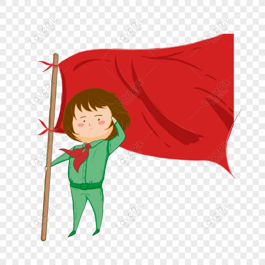 Gratis Bocah Kartun Memberi Hormat Elemen Asli Di Bawah Bendera Png Psd Unduhan Gambar Ukuran 2000 2000px Id 832301848 Lovepik