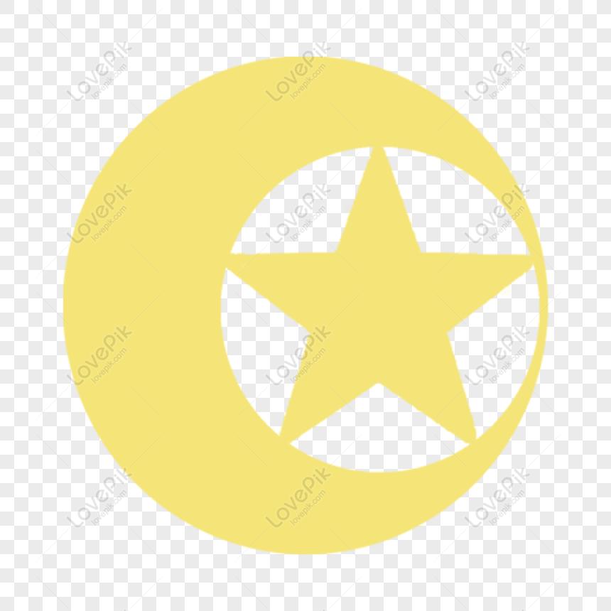 Gratis Desenhos Animados Sol Lua E Estrelas Pintados A Mao Png