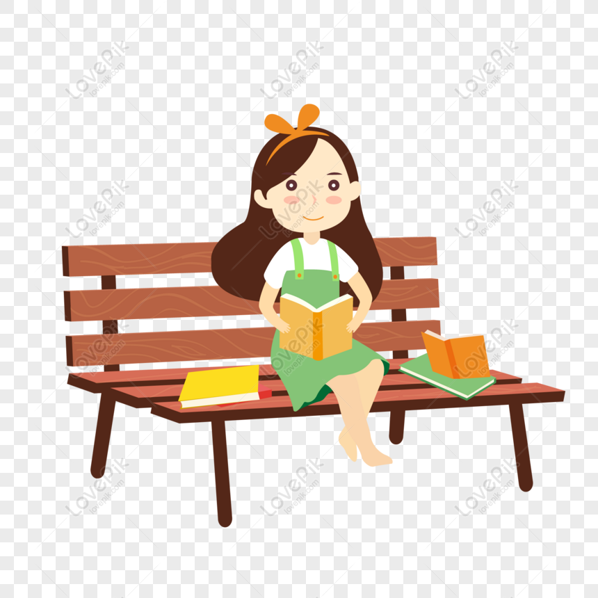 free cartoon hand drawn girl reading book vector png ai image download size 2000 2000 px id 832349247 lovepik free cartoon hand drawn girl reading