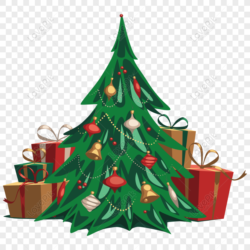 free christmas tree and christmas gift vector material elements png ai image download size 2000 2000 px id 832375394 lovepik free christmas tree and christmas gift